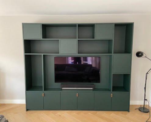 Wandkast met tv lakverf