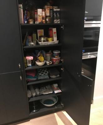 binnenlades keukenkast