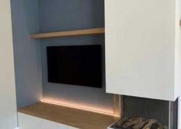 TV meubel met haard