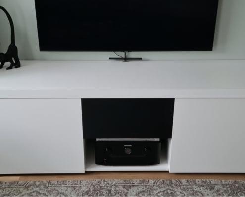 TV meubel met ventilatie