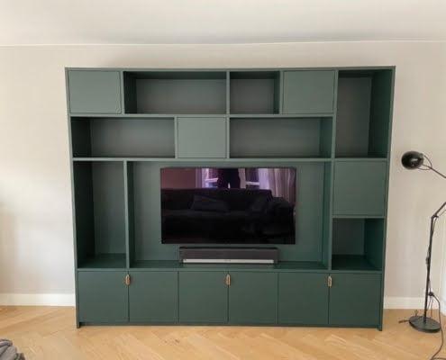 Maatwerk tv meubel niet tot plafond